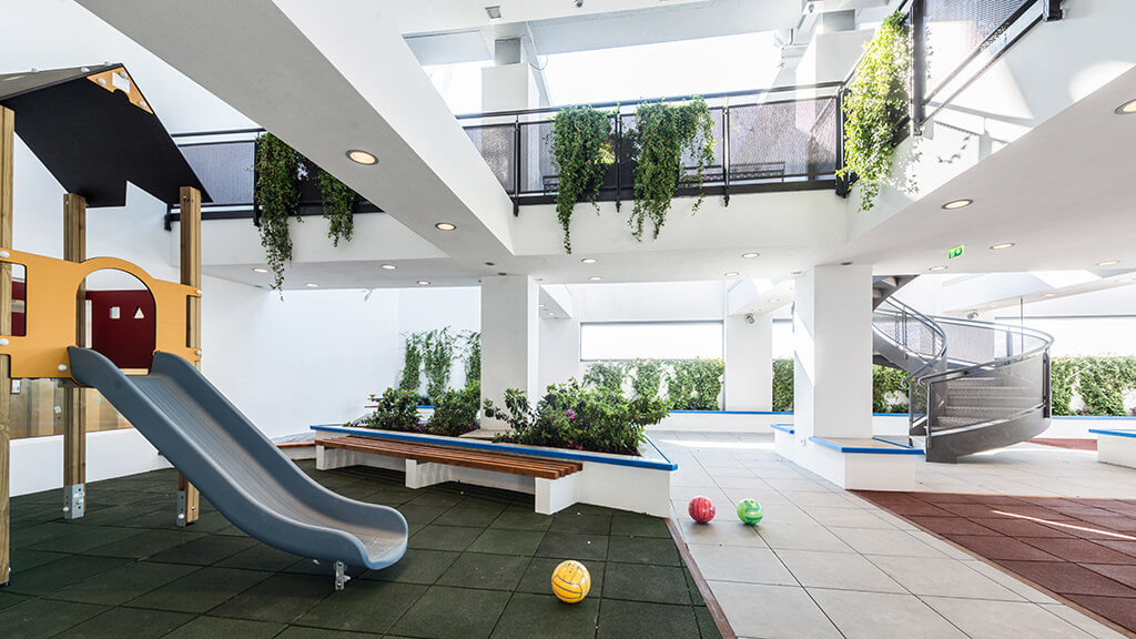A sky-high playground